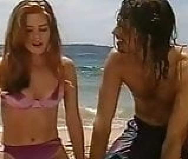 Isla Fisher In A Bikini Home And Away