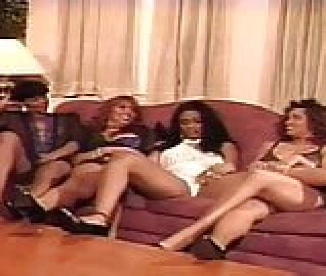 90s Ebony Lesbian Orgy