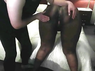 Alex Spanks : Ebony BBW Sub Whore Spanked & Finger Fucked