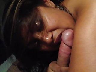 Desi Indian lover sucking white penis cuckold lover