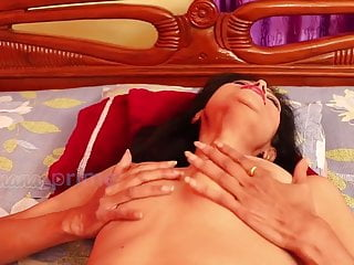 Desi Old Indian horny milf craves fiery shaft