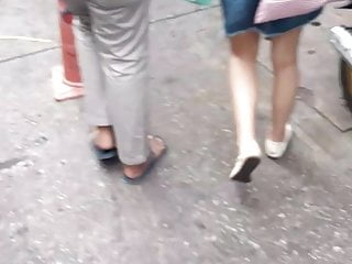 Thai hot legs Bangkok footwear  hair hot