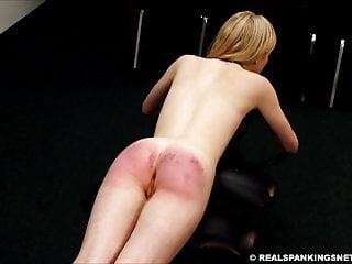 Alice handsome spanking 2