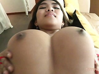 Colossal busty naturals on blistering Thai sexy girl