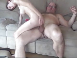 Feeble Man With Tremendous COCK Abused Furry TEEN Whore