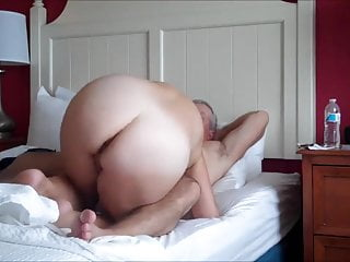Hot Mature Couple Fucking and Sucking Like Crazy
