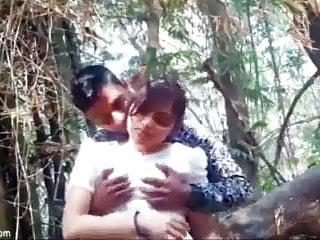 desi bf & gf intercourse in forest