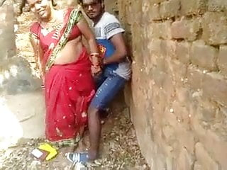 Desi village slut received caught