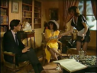 Classic french orgy group intercourse intense within the palace movie