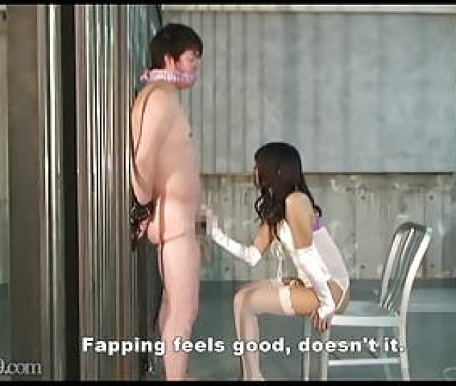 Japanese Femdom Slave Video Mldo 150 Masochist Are Managed In A Chastity Belt