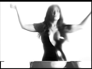 Salma Hayek modeling video