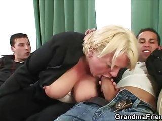 Smoking a Fag at Grannies