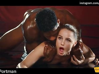 Natalie Portman's Laborious Interracial Gangbang Leaked Intercourse Tape