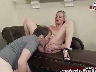 German Household intercourse with father and mommy Roleplay Milf