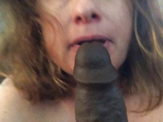 BBW milf with furry vagina big black cock fantasy slurps lengthy ebony sex toy