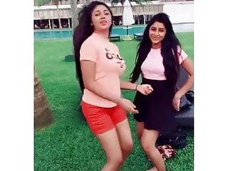 Sri lankan hot actress Rashiprbha (Sweltering Dance)