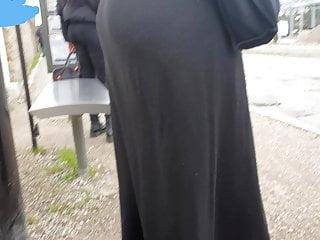 Candid ass muslim