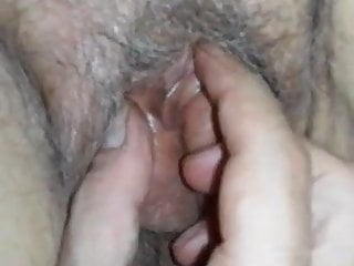 Enjoying with Gran's Juicy hole