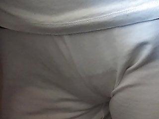 Sister camel toe see thru pants