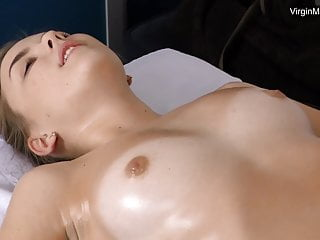 Virgin Litonya has astounding orgasms