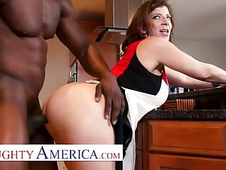 Mischievous America Sara Jay loves her chocolate pussy filling
