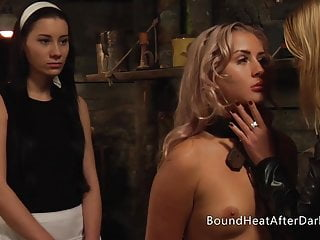 Mild Groping And Inspection Of Fresh Younger Lesbian Slave