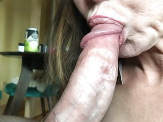 Asian hot mom Likes to Style Dick in Garter and Stockings