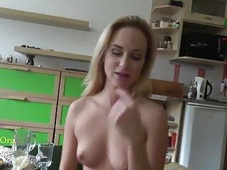 Roasting hot Novice Blonde GF Do-it-yourself POV Cock sucking
