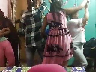 Me & my pal dance in hostel