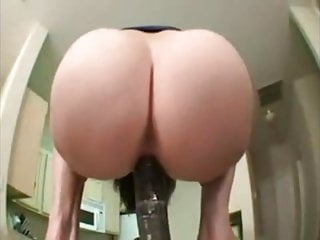 Immense Ass PAWG Bounces on Immense Dildo