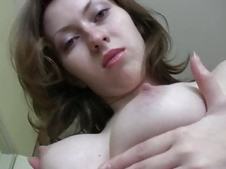 Brunette girl home alone with daddy