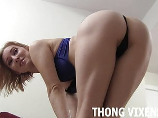 Need me to bend over in a thong for you Jerk Off Instructions