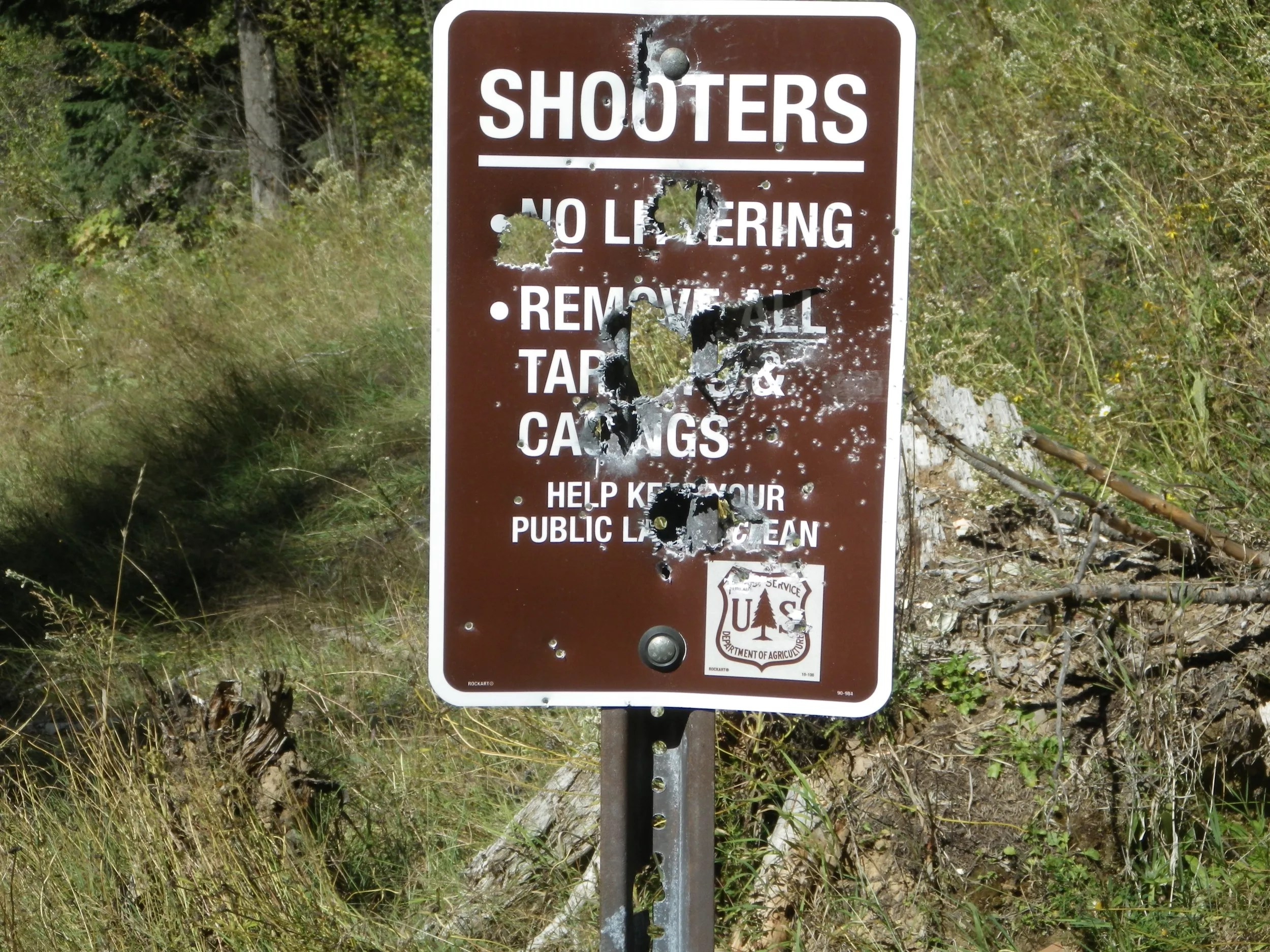 Home is a 2 bed, 2.0 bath property. Shooters Trash Forest Service Signs At Hayden Site The Spokesman Review