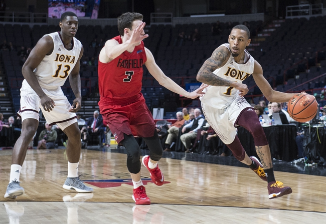 Image result for Iona Gaels vs Fairfield Stags basketball