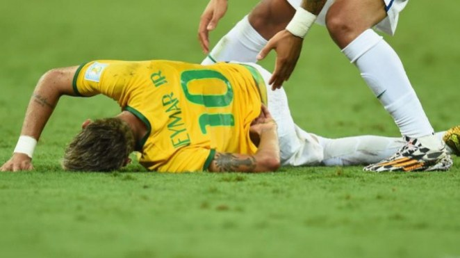 Pemain Brasil, Neymar.