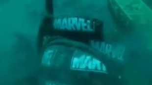 Indonesian Marines Find Marvel's Seabed Bag for Sriwijaya Air Victims