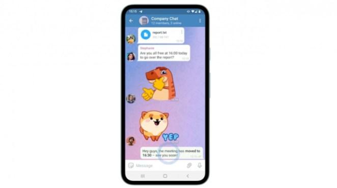 Fitur terbaru Telegram.