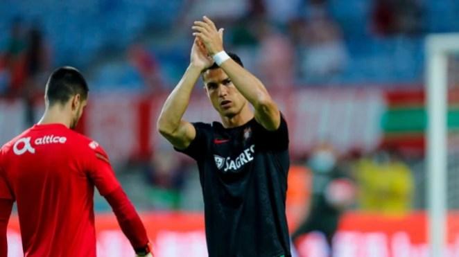 Cristiano Ronaldo jelang pertandingan Portugal melawan Luksemburg