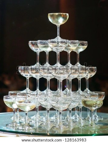 Champagne Tower Stock Images Royalty Free Images Amp Vectors Shutterstock
