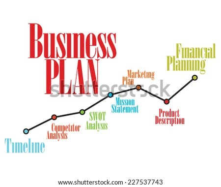 Business Plan Timeline Operations Financial Planning Stock ...