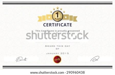 Stunning 1st Prize Certificate Template Ideas - Resume Ideas ...