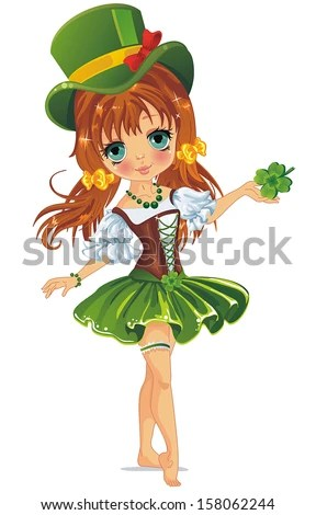 Leprechaun Girl Stock Images, Royalty-Free Images ...