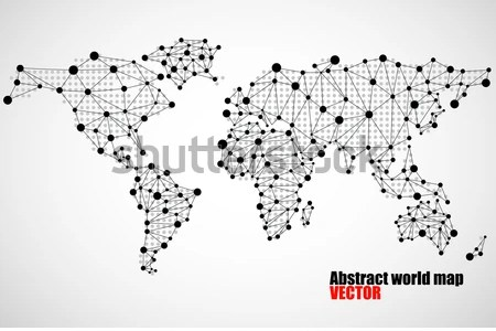 Map with dots map of the world free wallpaper for maps full maps a high tech vibe or digital nature the designer skillfully leverages world map dots template vector free download world map dots template free vector gumiabroncs Image collections