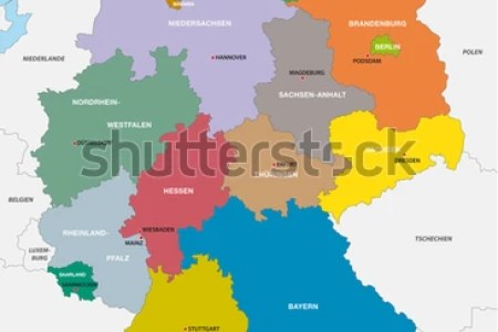 administrative of germany map » ..:: Edi Maps ::.. | Full HD Maps