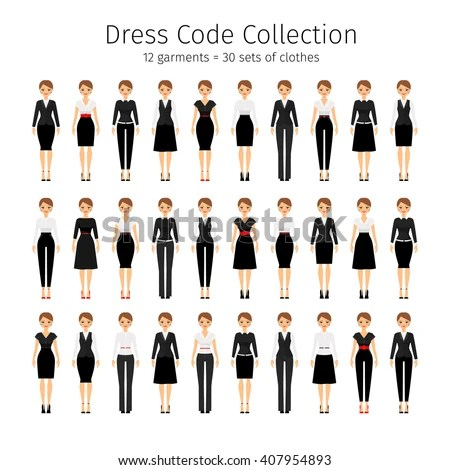 Dress Code Woman Stock Images Royalty Free Images