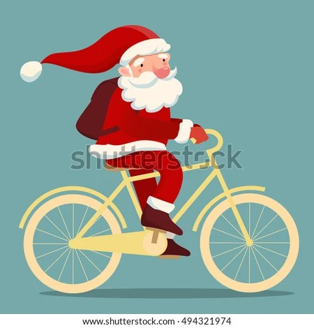 Christmas Bicycle Stock Images Royalty Free Images