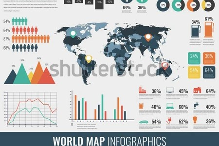 Map charts world free wallpaper for maps full maps map chart javascript charts vancharts world map of javascript charts vancharts world religions infographic with world map charts vector image colorful world gumiabroncs Gallery