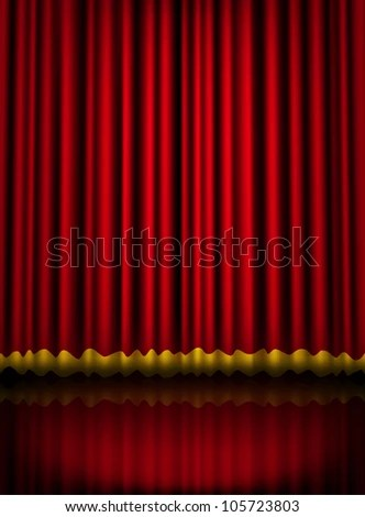 Transpa Red Curtain Png Clipart Boders Frames Curtainly