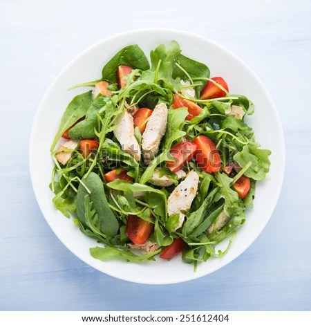 Salad Plate Stock Images, Royalty-Free Images & Vectors ...