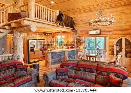 Log Cabin Stock Photos Images Amp Pictures Shutterstock